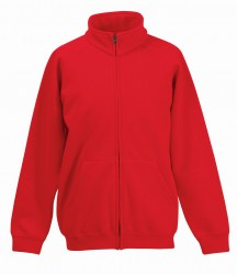 Image 5 of Fruit of the Loom Kids Classic Sweat Jacket