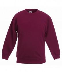 Image 2 of Fruit of the Loom Kids Classic Drop Shoulder Sweatshirt