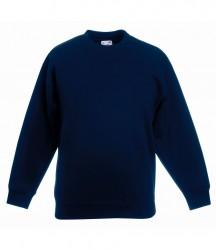 Image 3 of Fruit of the Loom Kids Classic Drop Shoulder Sweatshirt