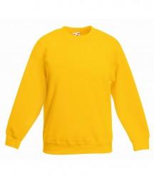 Image 13 of Fruit of the Loom Kids Classic Drop Shoulder Sweatshirt