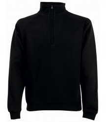 Fruit of the Loom Premium Zip Neck Sweatshirt image