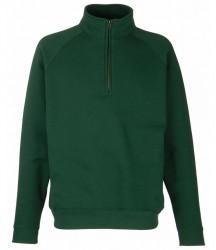 Image 3 of Fruit of the Loom Premium Zip Neck Sweatshirt