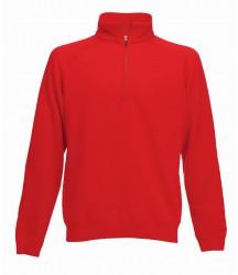 Image 6 of Fruit of the Loom Premium Zip Neck Sweatshirt