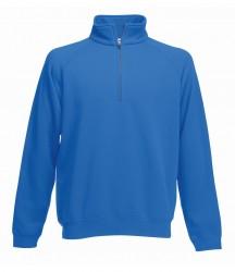 Image 7 of Fruit of the Loom Premium Zip Neck Sweatshirt