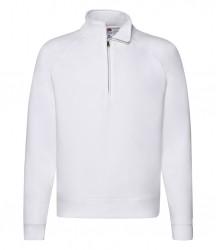 Image 8 of Fruit of the Loom Premium Zip Neck Sweatshirt