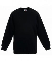 Fruit of the Loom Kids Premium Raglan Sweatshirt image