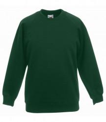 Image 10 of Fruit of the Loom Kids Premium Raglan Sweatshirt