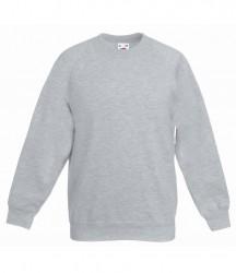 Image 4 of Fruit of the Loom Kids Premium Raglan Sweatshirt