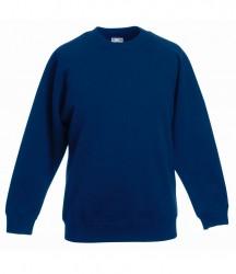 Image 5 of Fruit of the Loom Kids Premium Raglan Sweatshirt