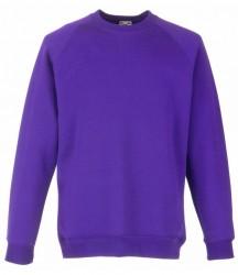 Image 6 of Fruit of the Loom Kids Premium Raglan Sweatshirt