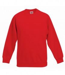 Image 7 of Fruit of the Loom Kids Premium Raglan Sweatshirt