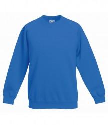 Image 8 of Fruit of the Loom Kids Premium Raglan Sweatshirt