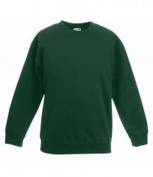 Image 3 of Fruit of the Loom Kids Premium Drop Shoulder Sweatshirt