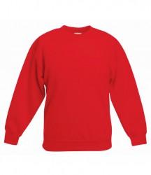 Image 8 of Fruit of the Loom Kids Premium Drop Shoulder Sweatshirt
