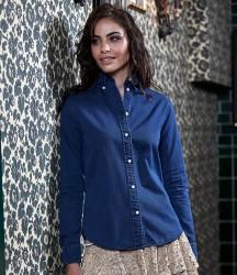 Tee Jays Ladies Long Sleeve Casual Twill Shirt image