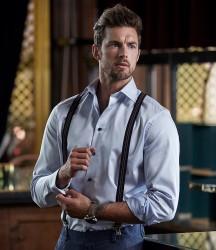 Tee Jays Luxury Comfort Fit Long Sleeve Oxford Shirt image