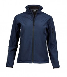 Image 4 of Tee Jays Ladies Lightweight Performance Soft Shell Jacket