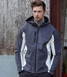 Tee Jays Lightweight Performance Hooded Soft Shell Jacket image