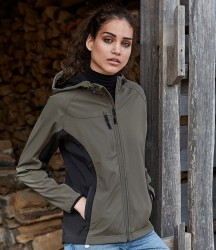Tee Jays Ladies Lightweight Performance Hooded Soft Shell Jacket image