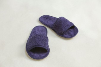 Towel City Classic Terry Slippers image