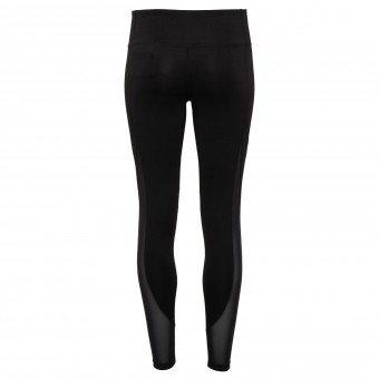 Women's TriDri® mesh tech panel leggings full-length image
