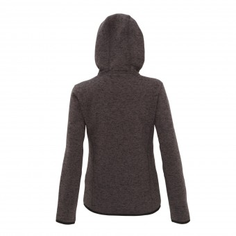 Women's TriDri® melange knit fleece jacket image