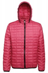 Image 4 of Honeycomb hooded jacket