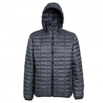 Image 3 of Honeycomb hooded jacket