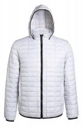 Image 2 of Honeycomb hooded jacket