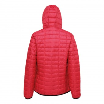 Women's honeycomb hooded jacket image