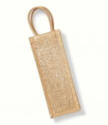 Westford Mill Shimmer Jute Bottle Bag image