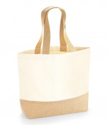 Westford Mill Jute Base Canvas Tote image
