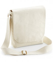 Westford Mill Fairtrade Canvas Mini Messenger image