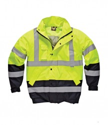 Image 2 of Dickies Hi-Vis Two Tone Pilot Jacket