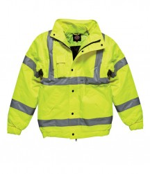 Image 3 of Dickies Hi-Vis Bomber Jacket