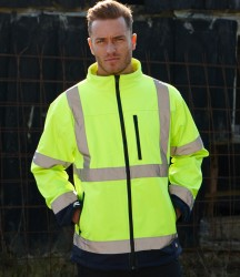 Dickies Hi-Vis Two Tone Soft Shell Jacket image