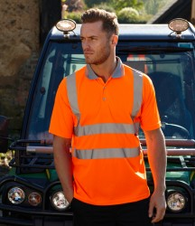 Warrior Daytona Hi-Vis Polo Shirt image