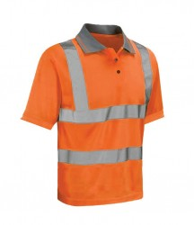 Image 2 of Warrior Daytona Hi-Vis Polo Shirt