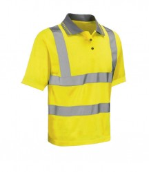 Image 3 of Warrior Daytona Hi-Vis Polo Shirt