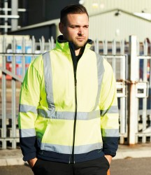 Warrior Iowa Hi-Vis Soft Shell Jacket image
