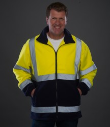 Yoko Hi-Vis Heavyweight Fleece Jacket image