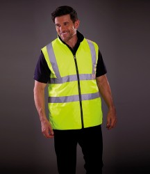 Yoko Hi-Vis Reversible Fleece Bodywarmer image