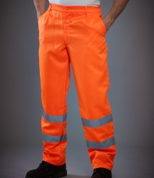 Yoko Hi-Vis Poly/Cotton Work Trousers image