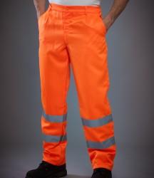 Yoko Hi-Vis Poly/Cotton Work Trousers image