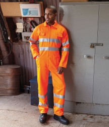Yoko Hi-Vis Poly/Cotton Coverall image