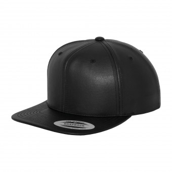 Image 1 of Full leather imitation snapback (6089FL)