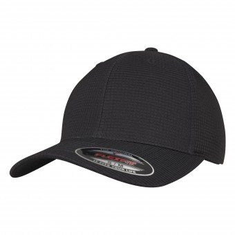 Image 1 of Flexfit hydro-grid stretch cap (6587)