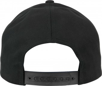 Image 5 of 5-panel curved classic snapback (7707)