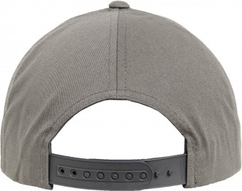 Image 4 of 5-panel curved classic snapback (7707)