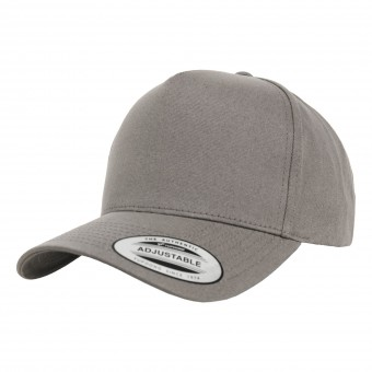 Image 1 of 5-panel curved classic snapback (7707)